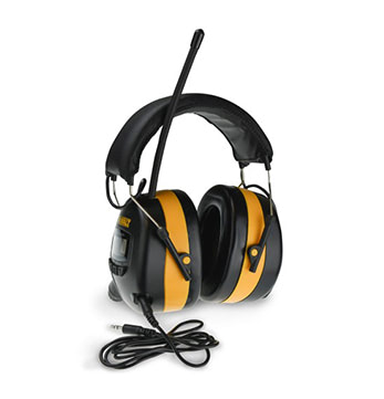 DeWalt Digital AM FM Hearing Protector