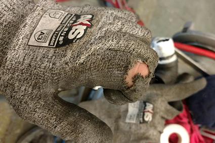 Rick Anderson Glove 2